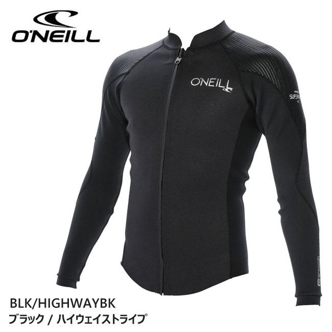 【O'NEILL/オニール】スーパーフリーク LSフロントジップJKT WF-5000 ウェットスーツ メンズ 大人 WF5000