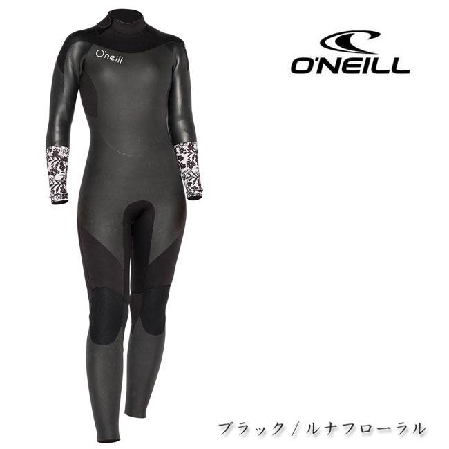 【O'NEILL/オニール】スーパーフリーク セミドライ WG-2770 レディス 大人用 バックジップタイプ セミドライスーツ 2019AW