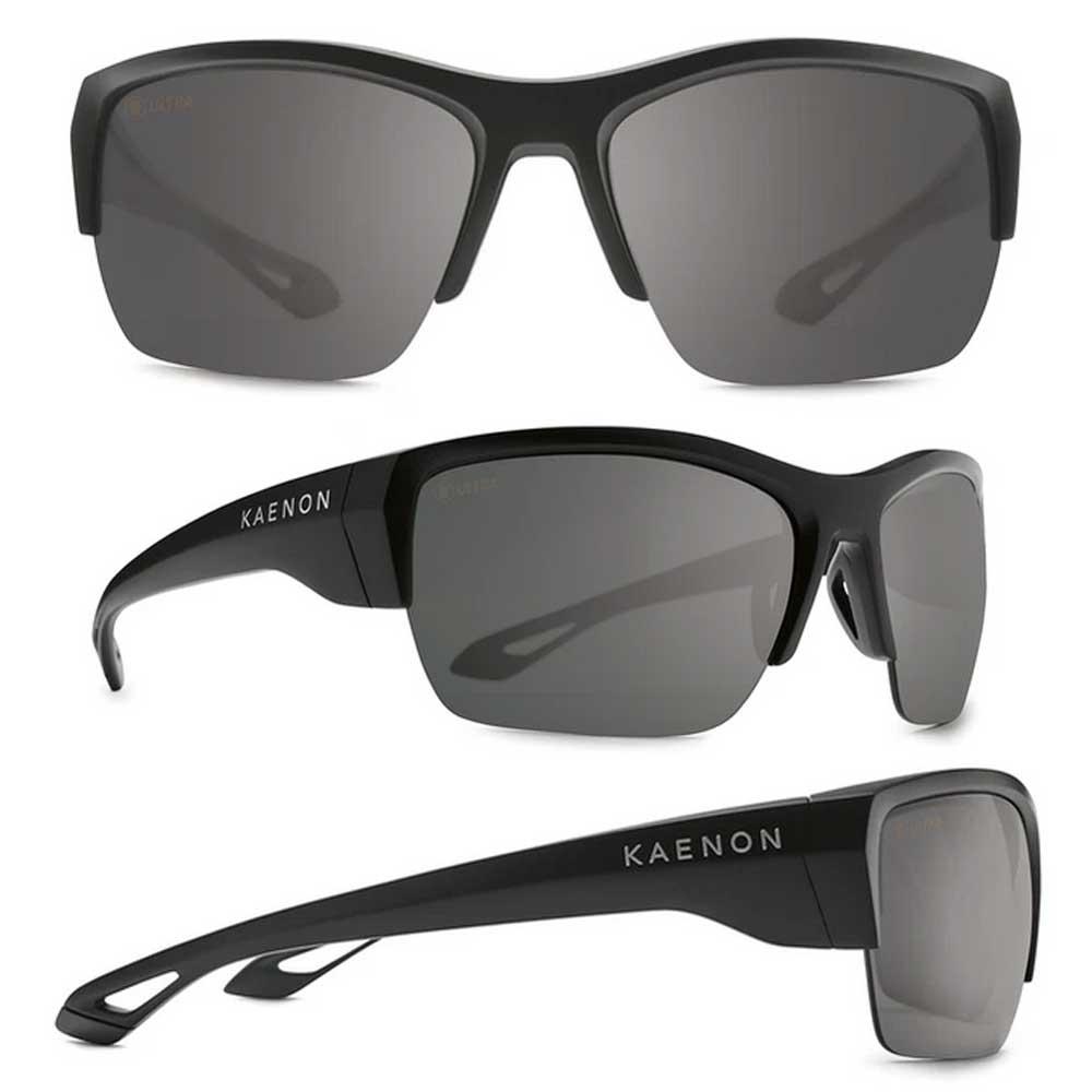 【KAENON/ケーノン】Arcata SR アルカタSR (フレーム)Matte Black / (レンズ)Ultra G12 Black Mirror 大人用 偏光レンズ 偏光サングラス スポーツサングラス
