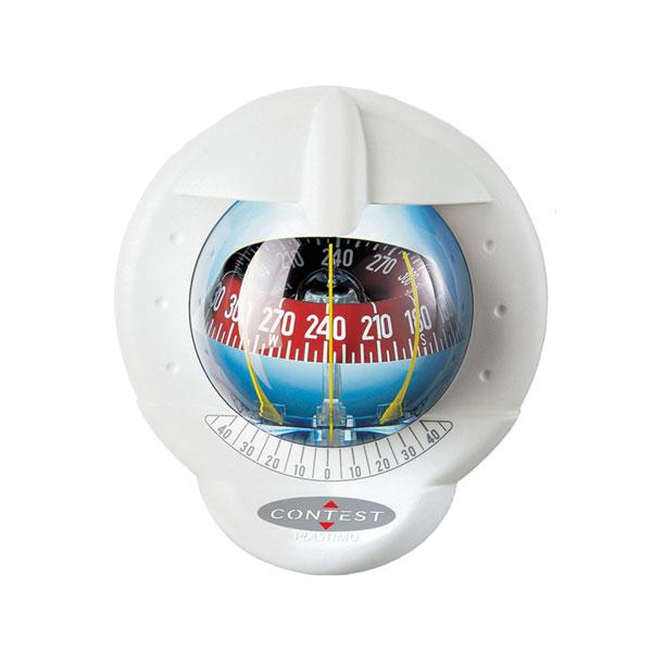 【PLASTIMO/プラスチモ】コンテスト101 ホワイト(ホワイトカード) コンパス 航海計器 Q3R-KAZ-013-003