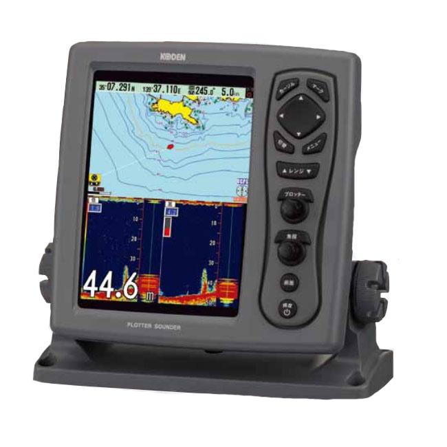 【KODEN/光電】8.4インチカラー液晶プロッター魚探(ブロードバンド型) CVG-87B&TDM-091D(送受波器) プロッター 魚群探知機 魚探 航海計器