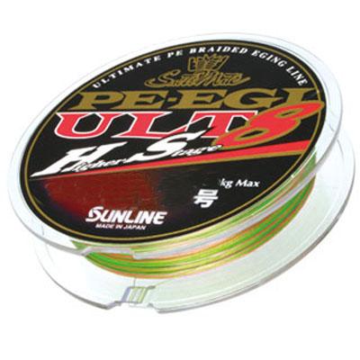 【SUNLINE/サンライン】ソルティメイト PEエギULT HS8 240m単品 0.3号 534760 ライン ルアーライン エギング