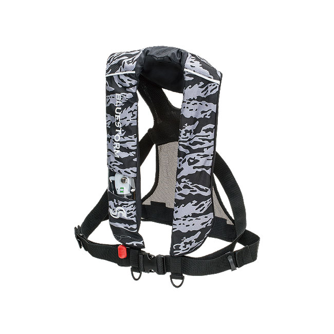 【BLUESTORM/ブルーストーム】膨脹式ライフジャケット(水感知機能付き) BSJ-2220RSE 大人用 ライフジャケト