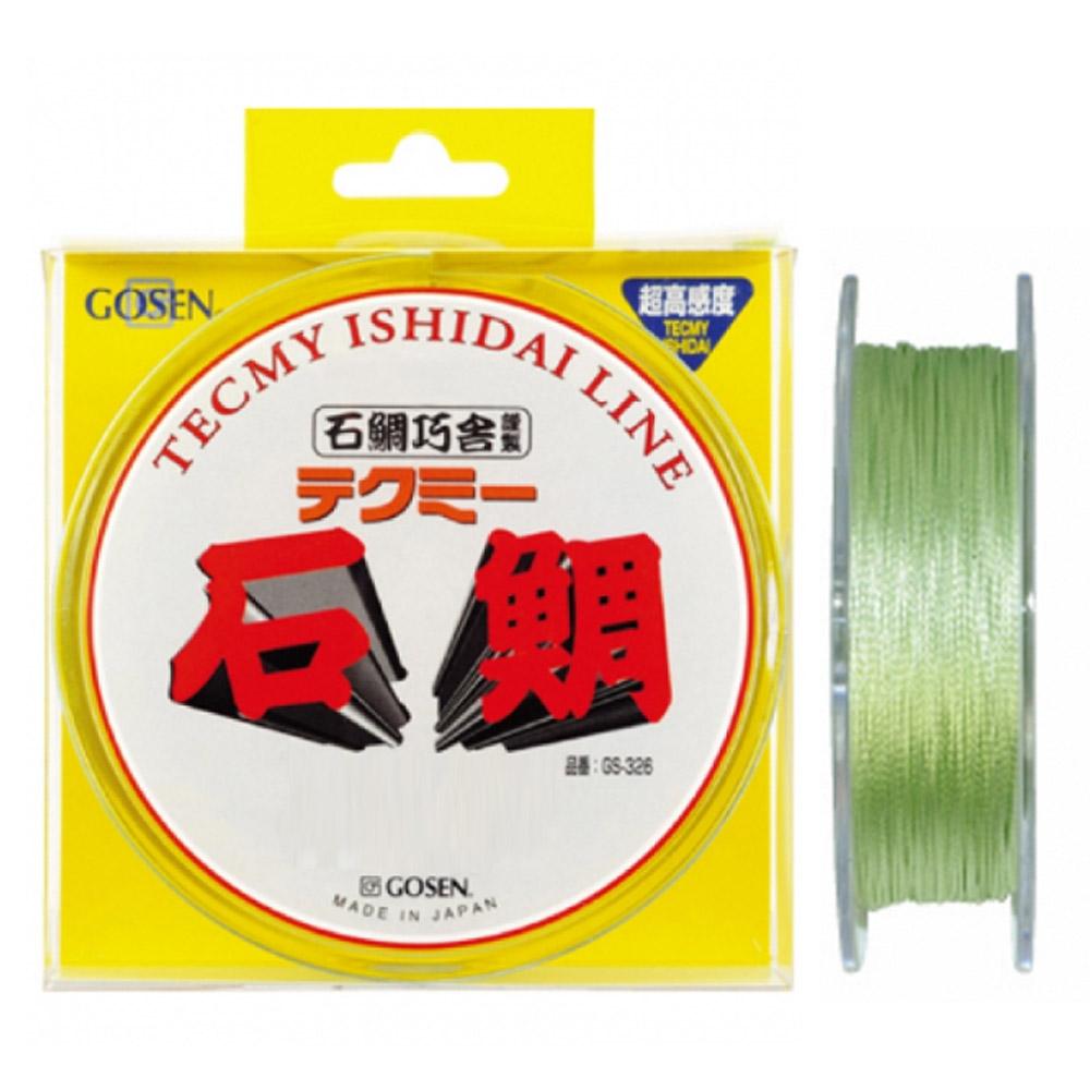 【GOSEN/ゴーセン】GS327K テクミー石鯛 200M グリーン 磯釣り用ライン PEライン
