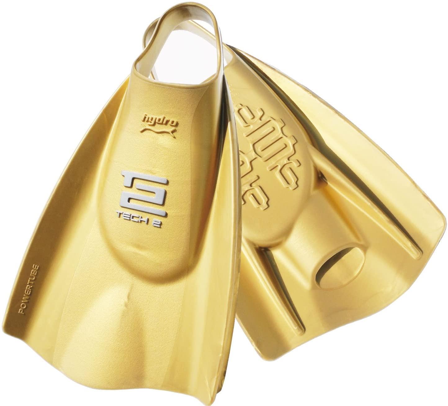現金特価 スイミング パワーフィン SOLINT-201180 Soltecswim ソルテックスイム 201180 テック2フィン トレーニング用フィン 27.0-28.0CM 203033 ハードフィン スイムゴールド ML 35%OFF