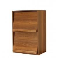 幅60 ディスプレイラック レコードラック 食器棚 本棚 ブラウン 完成品 日本製 国産 保証