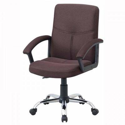 メッシュ キャスター付き椅子 キャスター オフィスチェア 事務椅子 デスクチェア 椅子 チェア ブラウン 肘付き椅子 肘置き 肘付 おしゃれ 安い パソコンチェア
