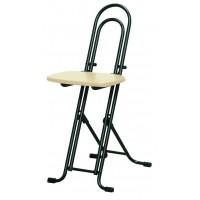 高さ調節 昇降 低姿勢 立ち仕事 中腰 作業 椅子 ナチュラル ブラック 日本製 完成品 ( 折りたたみ 折り畳み 低い 低い椅子 チェア チェアー イス いす