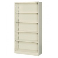 書類棚 書庫 本棚 大容量 スチール キャビネット オフィス 棚 収納 スチールラック スチール棚 A4 おしゃれ 約 90cm幅