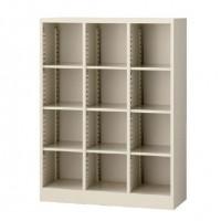 書類棚 書庫 本棚 大容量 スチール キャビネット オフィス 棚 収納 スチールラック スチール棚 A4 おしゃれ 90cm幅