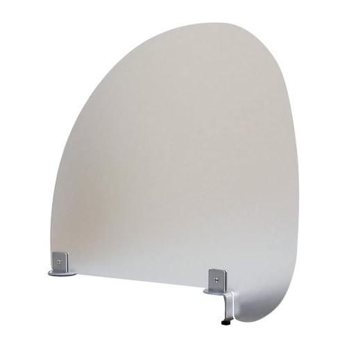 コロナ ウイルス 対策 パーテーション デスク 机 テーブル 仕切り 衝立 仕切り板 パネル オフィス 飲食店 卓上 机上 飛沫 防止 感染 予防 ガード シールド クランプ式 デスクトップパネル デスクパネル アクリル板 57×50