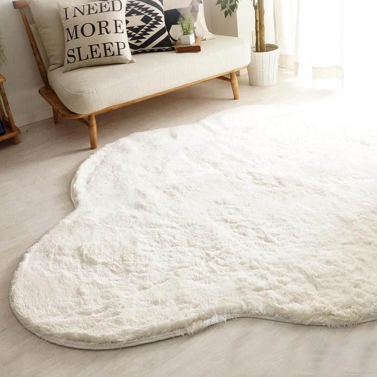ラグ カーペット おしゃれ ラグマット 絨毯 北欧 ダイニングラグ マット 厚手 極厚 安い 洗える 滑り止め 床暖房 床暖房対応 190×240 3畳 ホワイト