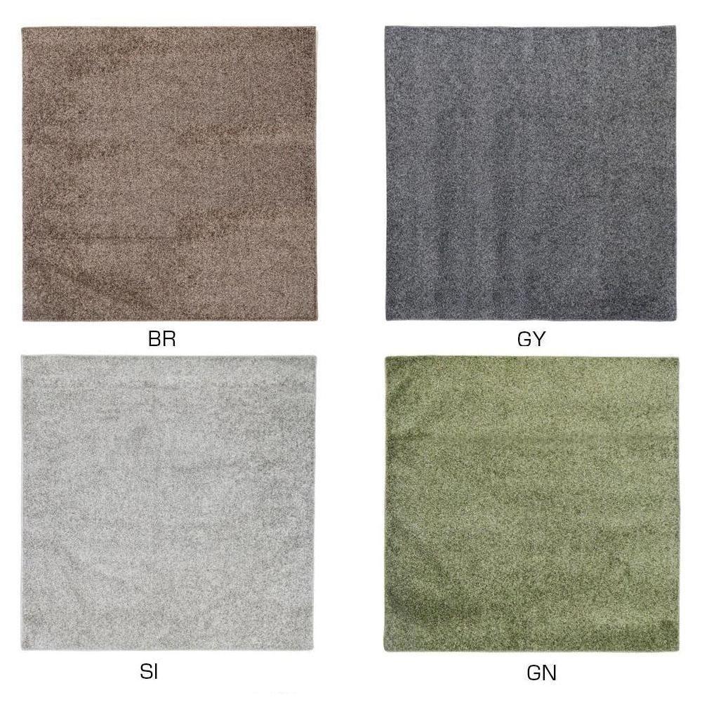 ラグ カーペット おしゃれ ラグマット 絨毯 北欧 じゅうたん マット 厚手 極厚 安い ふかふか ふわふわ 185×185 3畳