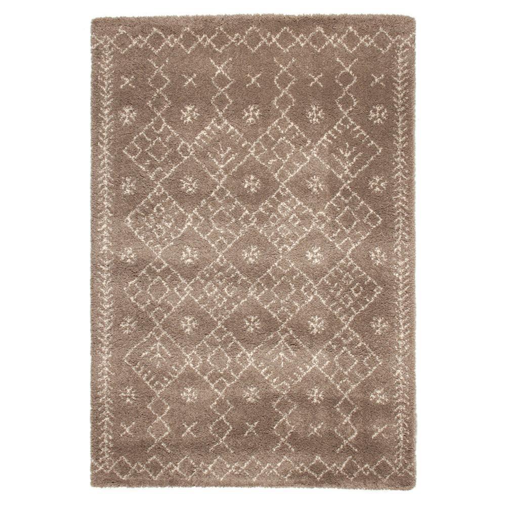 ラグ カーペット おしゃれ ラグマット 絨毯 ペルシャ ダイニングラグ マット 厚手 極厚 北欧 安い ふかふか ウィルトン織ラグ 160×230 3畳 ブラウン