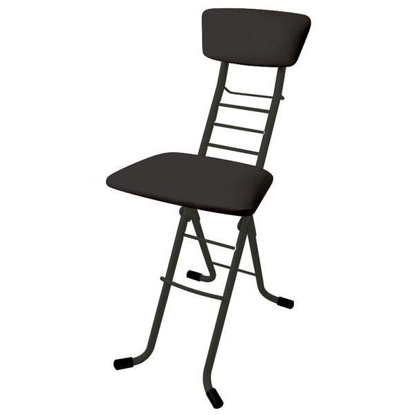 ワークチェア カウンターチェア ハイチェア 高さ調節 昇降 低い 椅子 ローチェア 作業椅子 ガーデニング ブラック 日本製 完成品