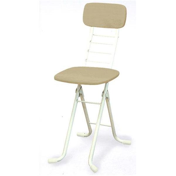 ワークチェア カウンターチェア ハイチェア 高さ調節 昇降 低い 椅子 ローチェア 作業椅子 ガーデニング チェア M ホワイト アイボリー 日本製 完成品