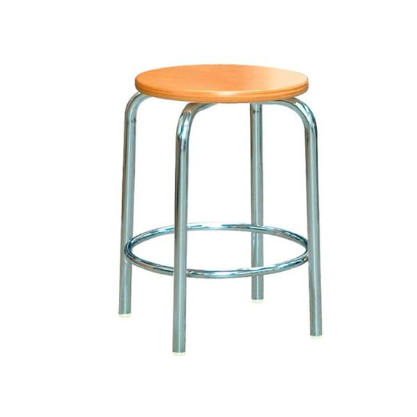 パイプ椅子 スタッキングチェア オフィスチェア 会議用チェア 会議椅子 チェア イス いす スツール 事務椅子 椅子 パソコンチェア デスクチェア pc 丸 足置き ナチュラル シルバー 日本製 完成品