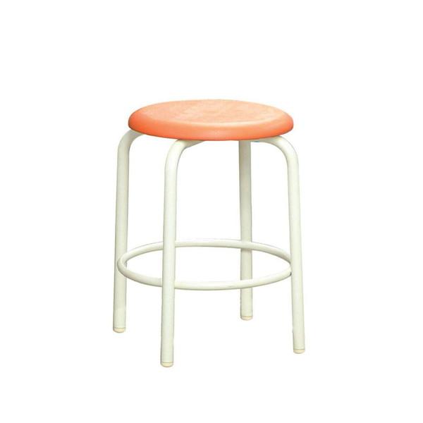 パイプ椅子 スタッキングチェア オフィスチェア 会議用チェア 会議椅子 チェア イス いす スツール 事務椅子 椅子 パソコンチェア デスクチェア pc 丸 足置き 日本製 完成品