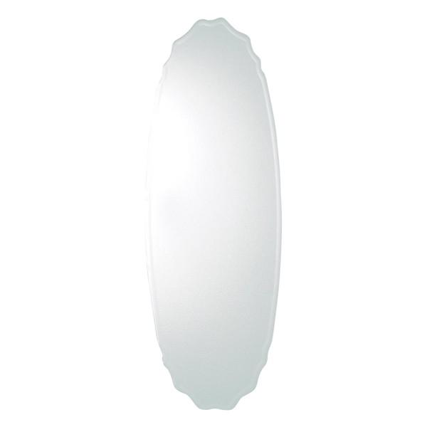 姿見 ミラー 全身鏡 メイク 化粧 壁掛け ウォールミラー 大型 大きい スリム 省スペース 楕円形 玄関 取り付け 飛散防止 ノンフレーム アンティーク 北欧 かわいい