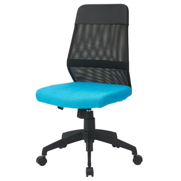 オフィスチェア 事務椅子 キャスター付き椅子 キャスター 椅子 パソコンチェア デスクチェア pc メッシュバックチェア ブルー