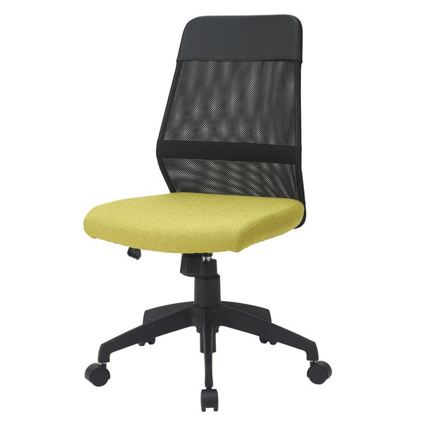 オフィスチェア 事務椅子 キャスター付き椅子 キャスター 椅子 パソコンチェア デスクチェア pc メッシュバックチェア グリーン