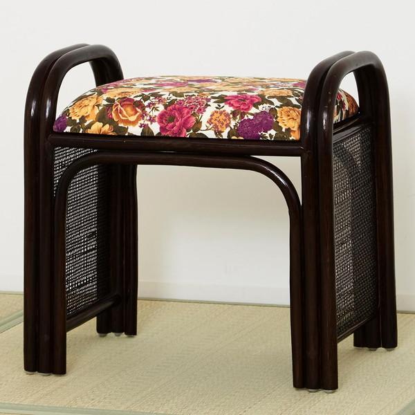 高座椅子 低い 椅子 一人暮らし コンパクト ローチェア こたつ おしゃれ 1人掛け 一人掛け ラタン スツール ハイ