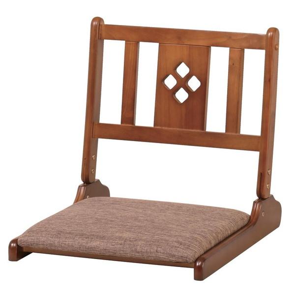 座椅子 座布団 低い 椅子 座イス 座いす 一人暮らし コンパクト ロー こたつ おしゃれ 1人掛け 一人掛け フロアチェア 折りたたみ ブラウン