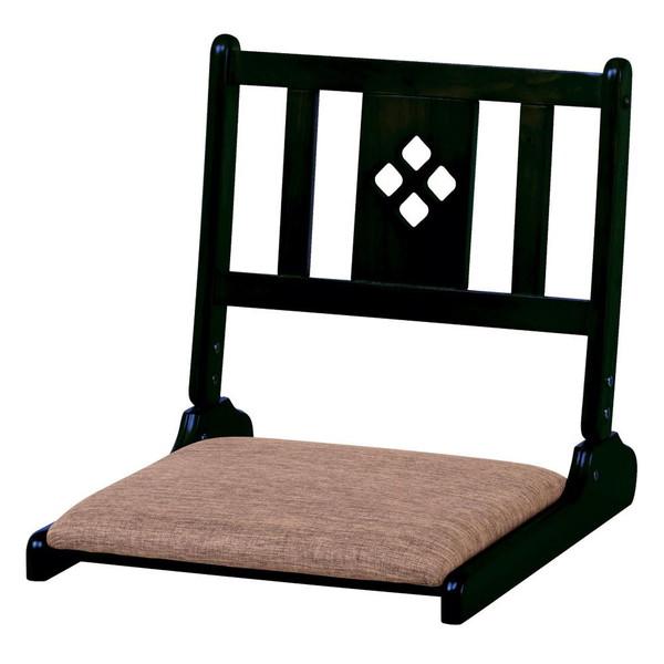 座椅子 座布団 低い 椅子 座イス 座いす 一人暮らし コンパクト ロー こたつ おしゃれ 1人掛け 一人掛け フロアチェア 折りたたみ ブラック