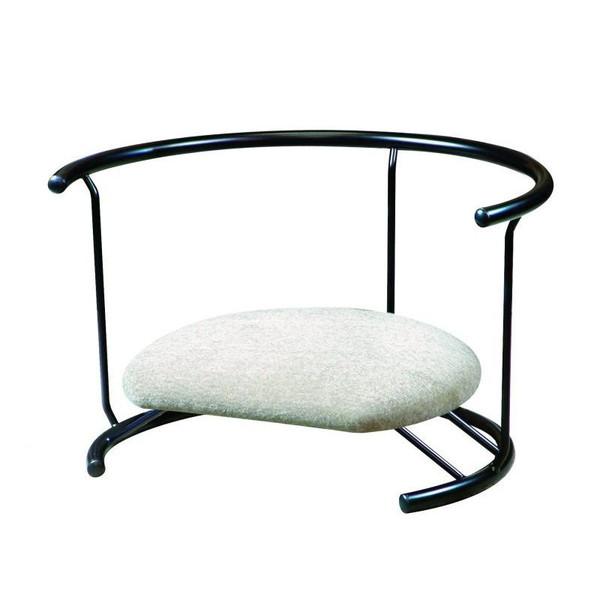 あぐら座椅子 あぐら クッション あぐらチェア あぐら椅子 姿勢矯正 低い 椅子 腰痛 骨盤矯正 座椅子 座イス 座いす 一人暮らし コンパクト ロー こたつ おしゃれ 1人掛け 一人掛け フロアチェア 日本製 スツール 背もたれ アイボリー