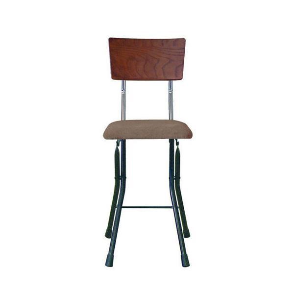 パイプ椅子 折りたたみ 会議椅子 チェア イス いす スツール オフィスチェア 事務椅子 椅子 パソコンチェア デスクチェア pc 日本製 折りたたみ椅子 フォールディング 木製 ダークブラウン/ブラック