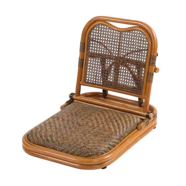 座椅子 座布団 低い 椅子 座イス 座いす 一人暮らし コンパクト ロー こたつ おしゃれ 1人掛け 一人掛け フロアチェア ラタン 畳座椅子