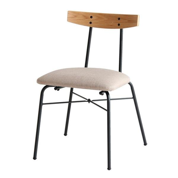 ダイニングチェア オフィスチェア パソコンチェア キャスターなし おしゃれ レトロ 北欧 椅子 軽量 安い モダン カフェ PC ナチュラル
