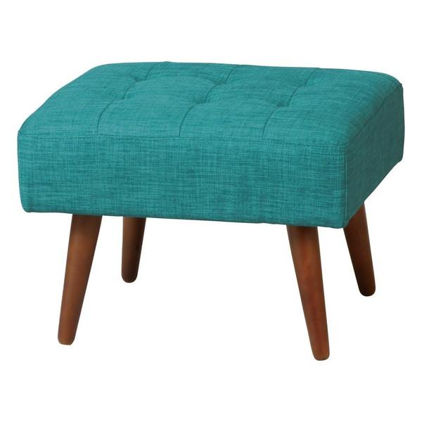 オットマン チェア スツール 足置き 低い 椅子 いす おしゃれ 北欧 アンティーク 安い チェアー 腰掛け シンプル ブルー