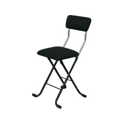 パイプ椅子 折りたたみ 会議椅子 チェア イス いす スツール オフィスチェア 事務椅子 椅子 パソコンチェア デスクチェア pc メッシュ ブラック/ブラック