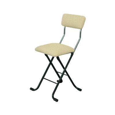 パイプ椅子 折りたたみ 会議椅子 チェア イス いす スツール オフィスチェア 事務椅子 椅子 パソコンチェア デスクチェア pc メッシュ ベージュ/ブラック
