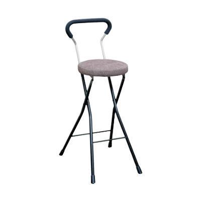 カウンターチェア 北欧 おしゃれ 安い バーチェア ハイチェア 椅子 アメリカン アンティーク デザイナーズ レトロ クッションチェア ハイ ブラウン/ブラック