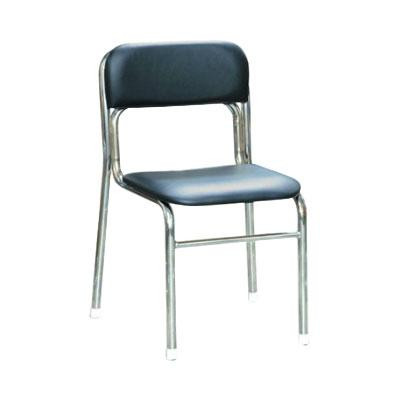 パイプ椅子 スタッキングチェア オフィスチェア 会議用チェア 会議椅子 チェア イス いす スツール 事務椅子 椅子 パソコンチェア デスクチェア pc ブラック/シルバー