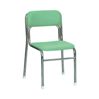 パイプ椅子 スタッキングチェア オフィスチェア 会議用チェア 会議椅子 チェア イス いす スツール 事務椅子 椅子 パソコンチェア デスクチェア pc グリーン/シルバー