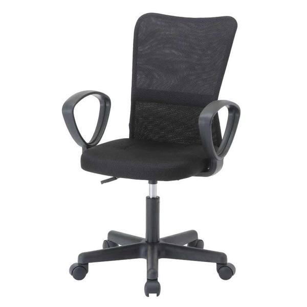 オフィスチェア 事務椅子 キャスター付き椅子 キャスター 椅子 パソコンチェア デスクチェア pc メッシュ 肘あり