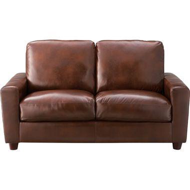 ソファー 2人掛け 高級感 ソファ 2P 1.5P ブラウン 茶色 ( アームチェア ソファベッド ローソファ カウチ ニ人掛け 1.5人 ) 低い
