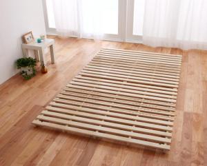 ベッド セミダブル すのこマット 布団対応 すのこベッド ローベッド ロータイプ 低い フロアベッド 低床 北欧 布団用 折りたたみ 和室 床板 のみ 直置き 通気性 結露 除湿 床置き カビ 布団干し 宮無し ヘッドレス ノーヘッド すのこ
