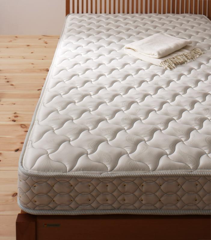 ベッド 安い セミダブル セミダブルベッド セミダブルサイズ マットレス付き デュラテクノ マット