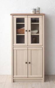 食器棚 おしゃれ 北欧 安い キッチン 収納 棚 ラック 木製 大容量 カップボード ダイニングボード ( コンパクト食器棚 )
