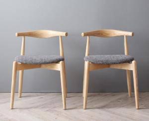 ダイニングチェア 2脚 スタッキング 椅子 おしゃれ 北欧 安い アンティーク 木製 シンプル ( 食卓椅子 2脚スタッキングチェア )