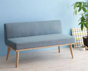 ソファー ソファ 2人掛け 二人掛け 2人用 ダイニングベンチ ダイニングチェア 椅子 おしゃれ 北欧 安い 木製 二人用 ( ダイニングソファバックレストタイプ2P )