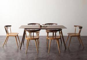 2021年新作 ダイニングテーブルセット 安い 6人用 机+チェア6脚 椅子 おしゃれ 安い ( 北欧 食卓 7点 ( 机+チェア6脚 ) 幅160 デザイナーズ クール スタイリッシュ ミッドセンチュリー ウォールナット 大きい 大きめ パーティ ビュッフェ, 東伯郡:ab6f4933 --- promilahcn.com