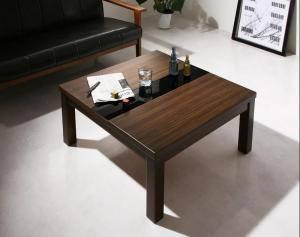 コタツ こたつテーブル センターテーブル ローテーブル おしゃれ 安い 北欧 木製 リビングテーブル ( こたつテーブル単品正方形(75×75cm)