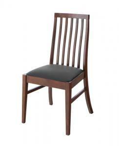 ダイニングチェア 2脚 椅子 おしゃれ 北欧 安い アンティーク 木製 シンプル ( チェア 2脚ブラウン )