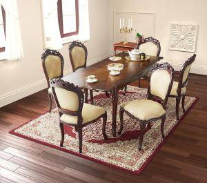 ダイニングセット ダイニングテーブルセット 6人 六人 6人用 六人用 椅子 ダイニングテーブル おしゃれ 伸縮 伸縮式 伸長式 安い 北欧 食卓 ( 7点(テーブル+チェア6脚)チェア肘無 幅140-180 )