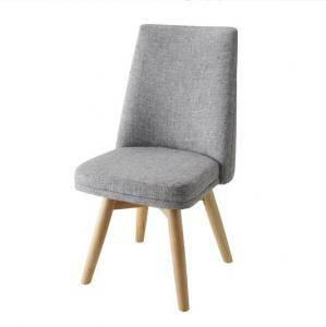 ダイニングチェア 回転 椅子 おしゃれ 北欧 安い アンティーク 木製 シンプル ( チェア 1脚 ) 座面高43 座面低め ロータイプ ファブリック 背もたれ シートクッション ハイバック モダン スタイリッシュ クール